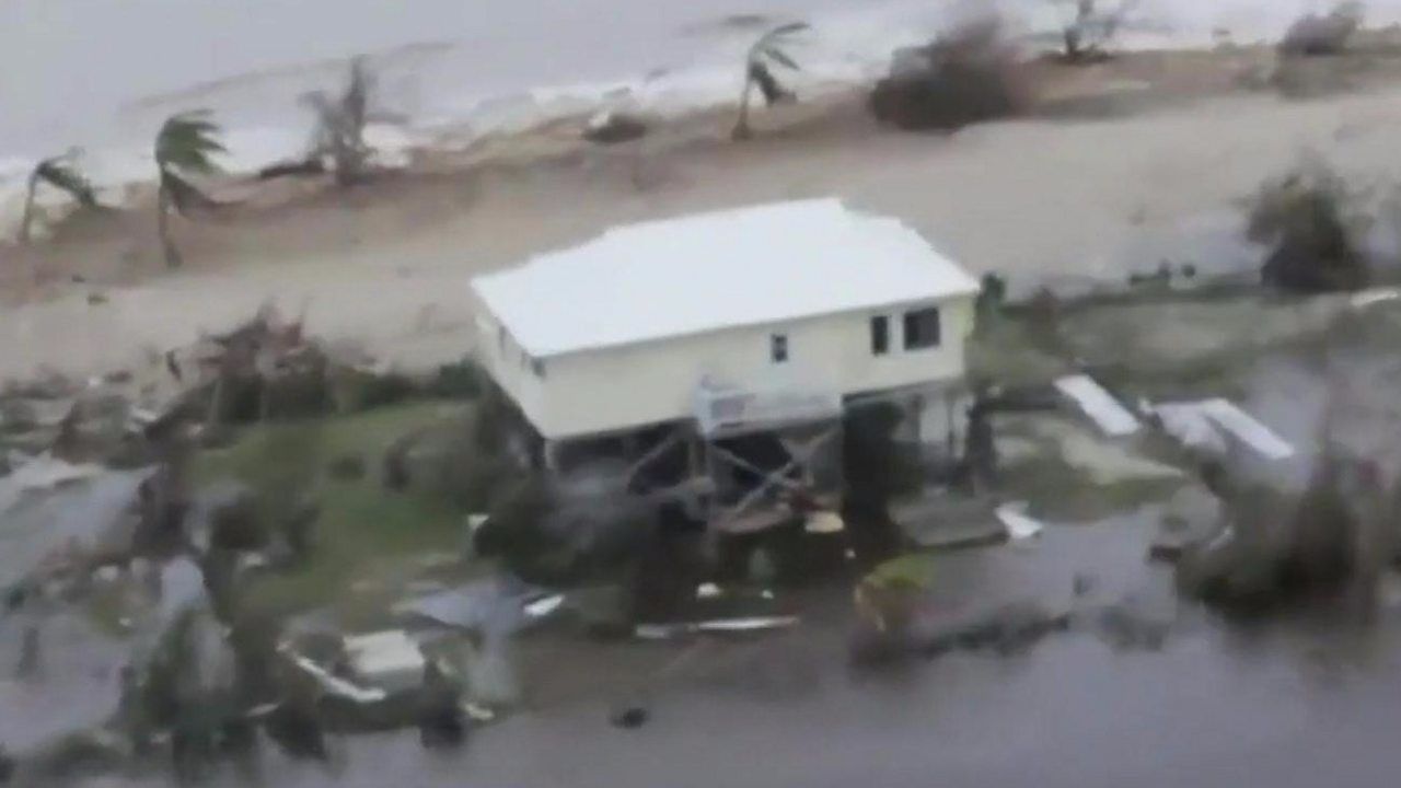 Hurricane Irma: Barbuda 'barely habitable', says PM