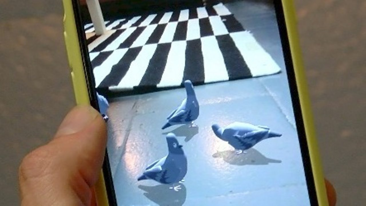 What will augmented reality do on the new iPhones?