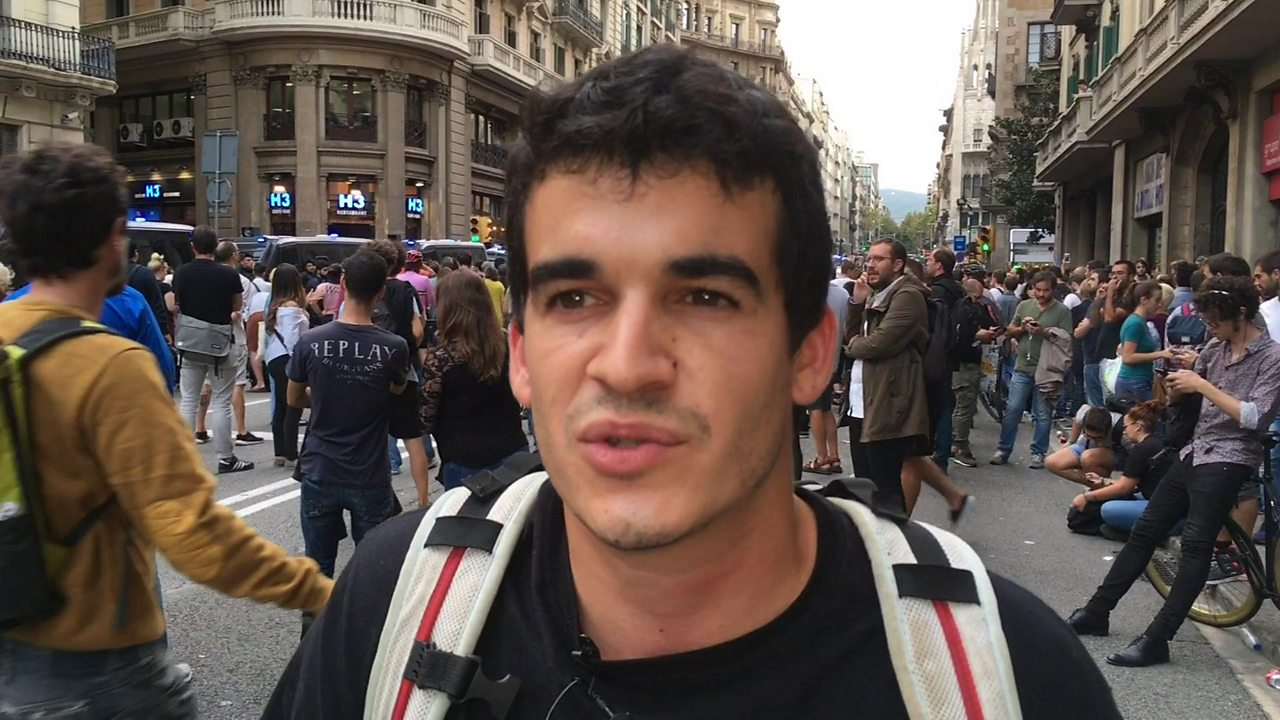 Catalonia student on why he now supports independence
