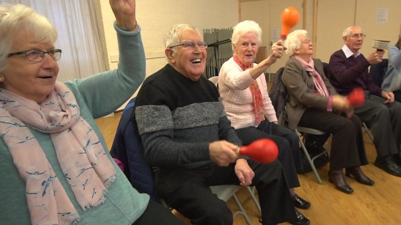 The choir helping people with dementia
