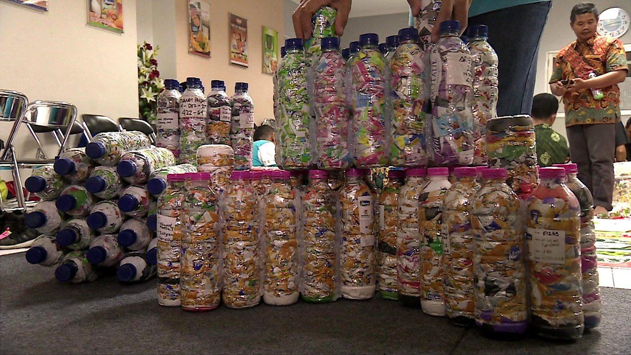 Indonesian EcoBricks: A new approach in its plastics 'war'