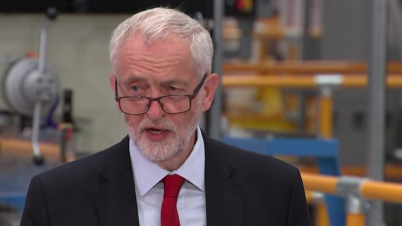 Anti-Semitism is simply wrong, says Jeremy Corbyn