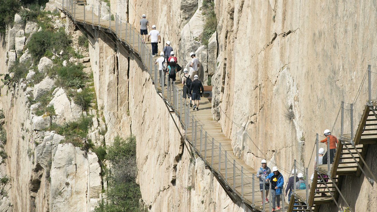 The King's Path: Is this the scariest walk in the world?