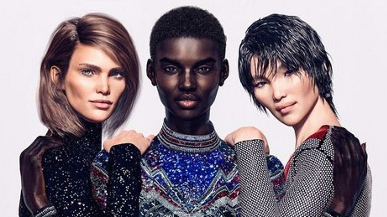 Balmain: The 3D digital models taking the fashion industry by storm