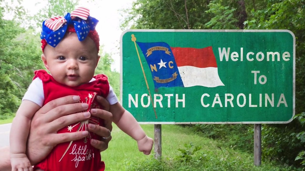 Baby joins the All 50 States Club