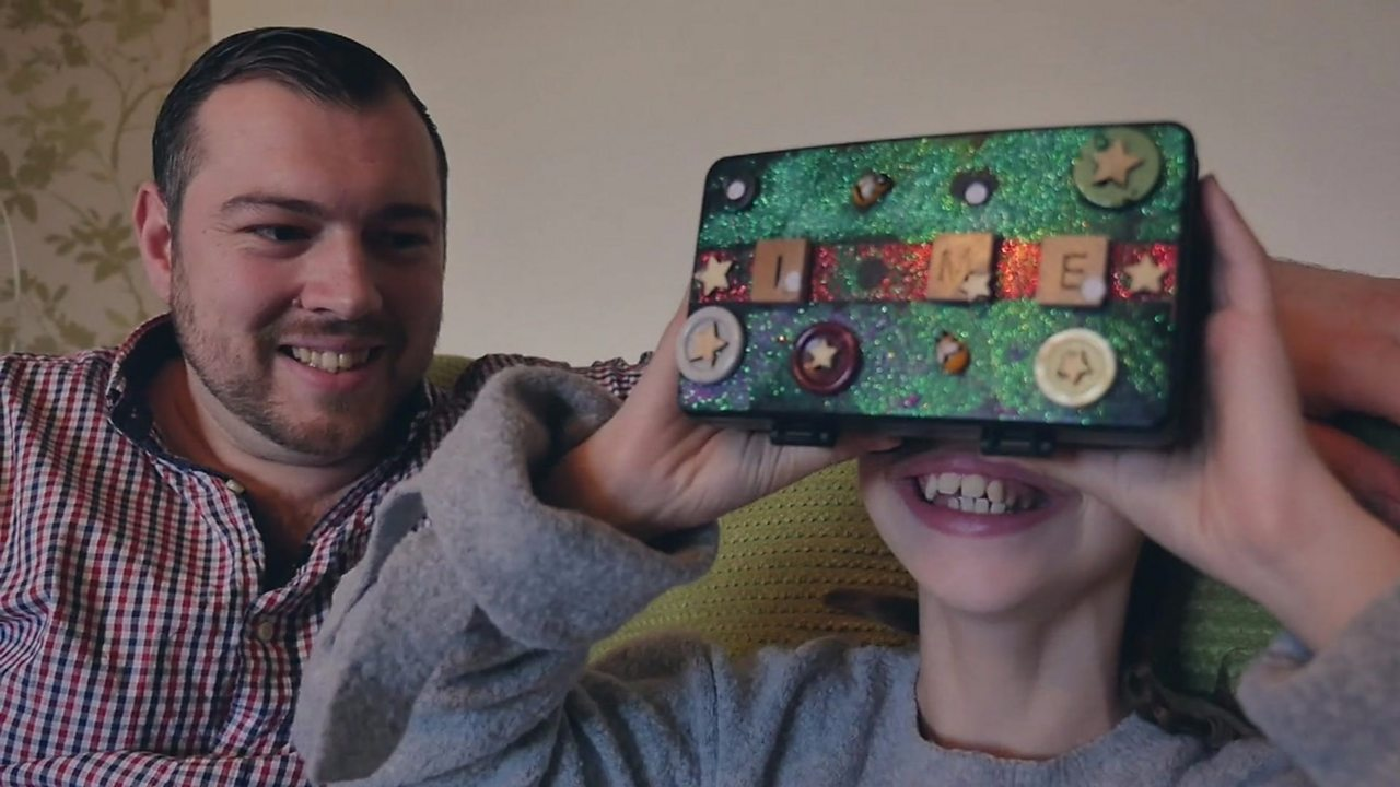 Dad creates VR world to help daughter