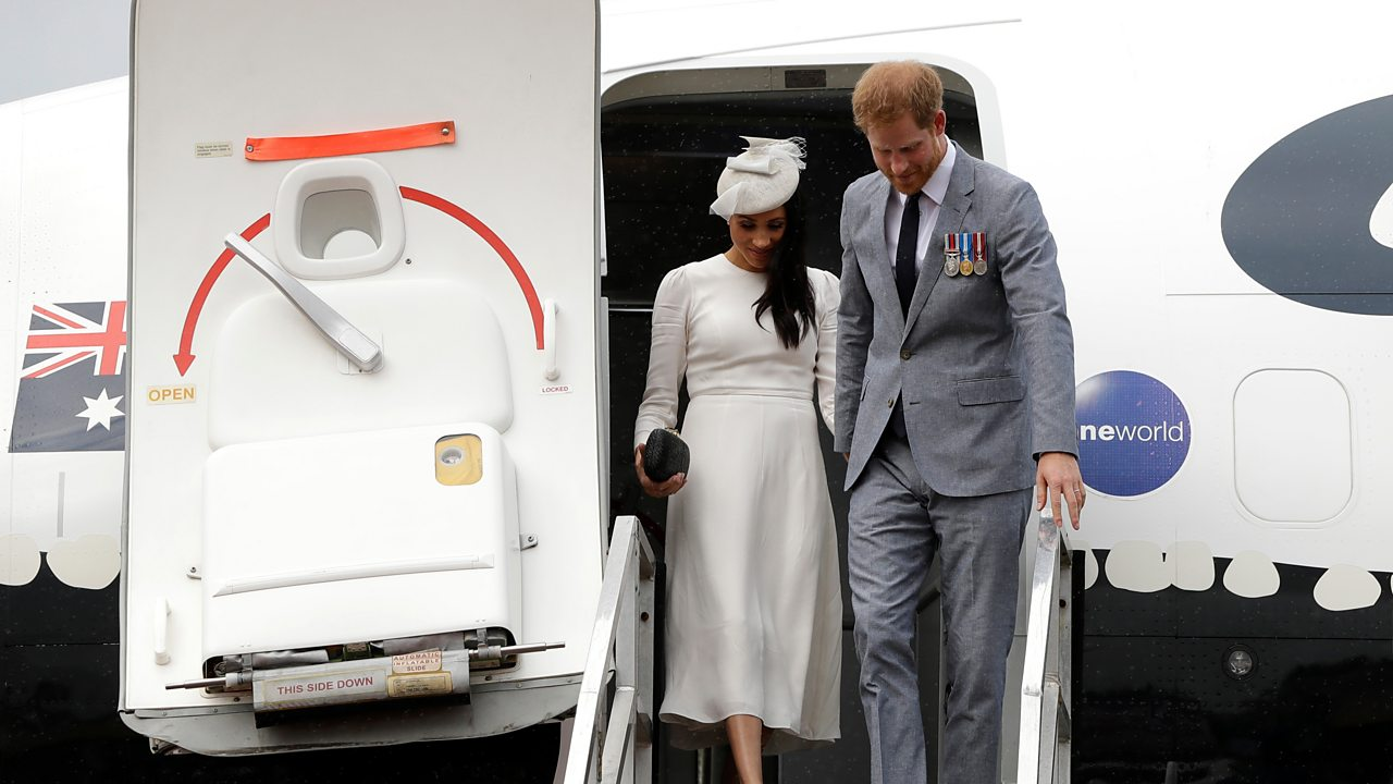 Meghan on tour: Tips for travelling when you're pregnant