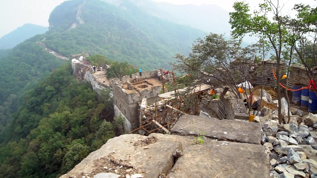 Drones called in to save the Great Wall of China