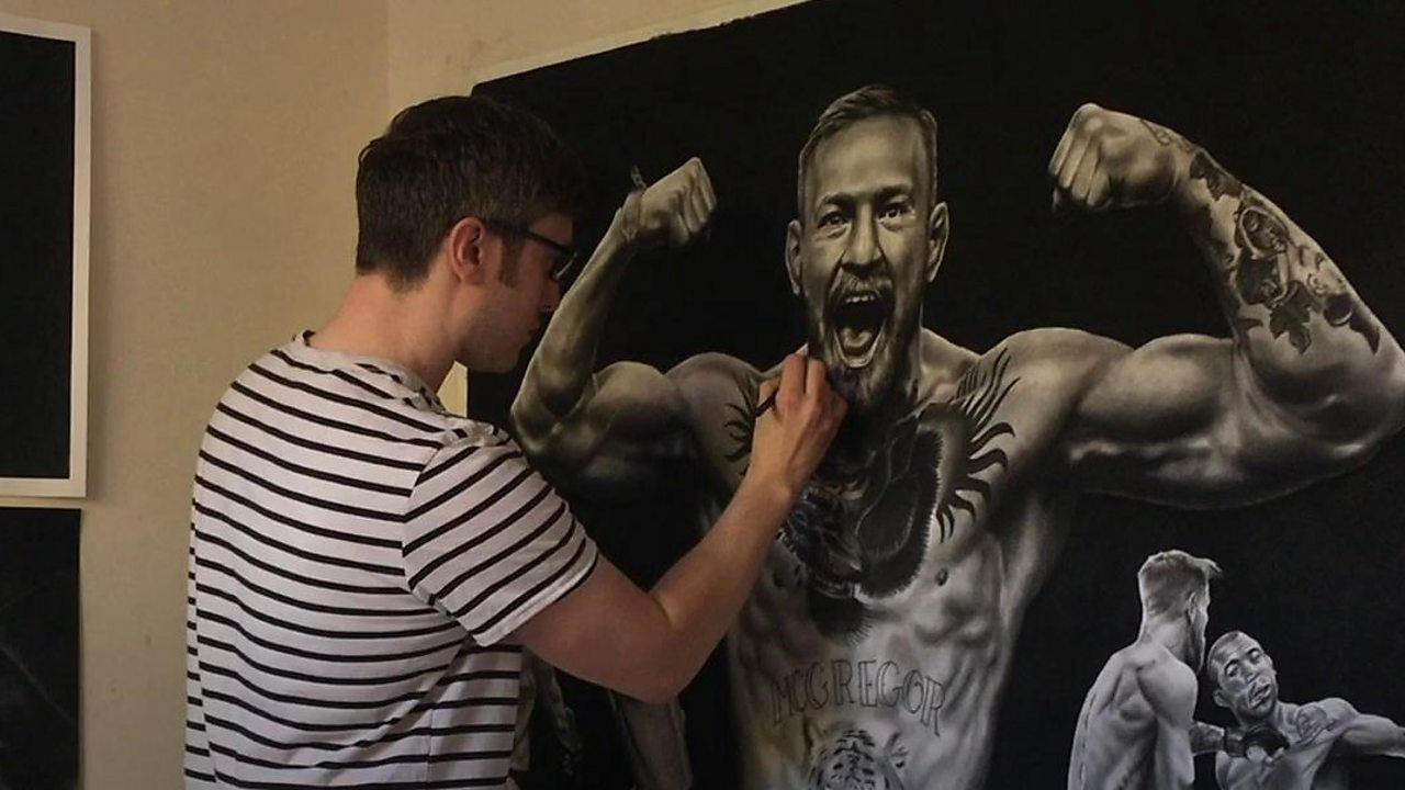 Birmingham artist sells 'bad' doodles for charity