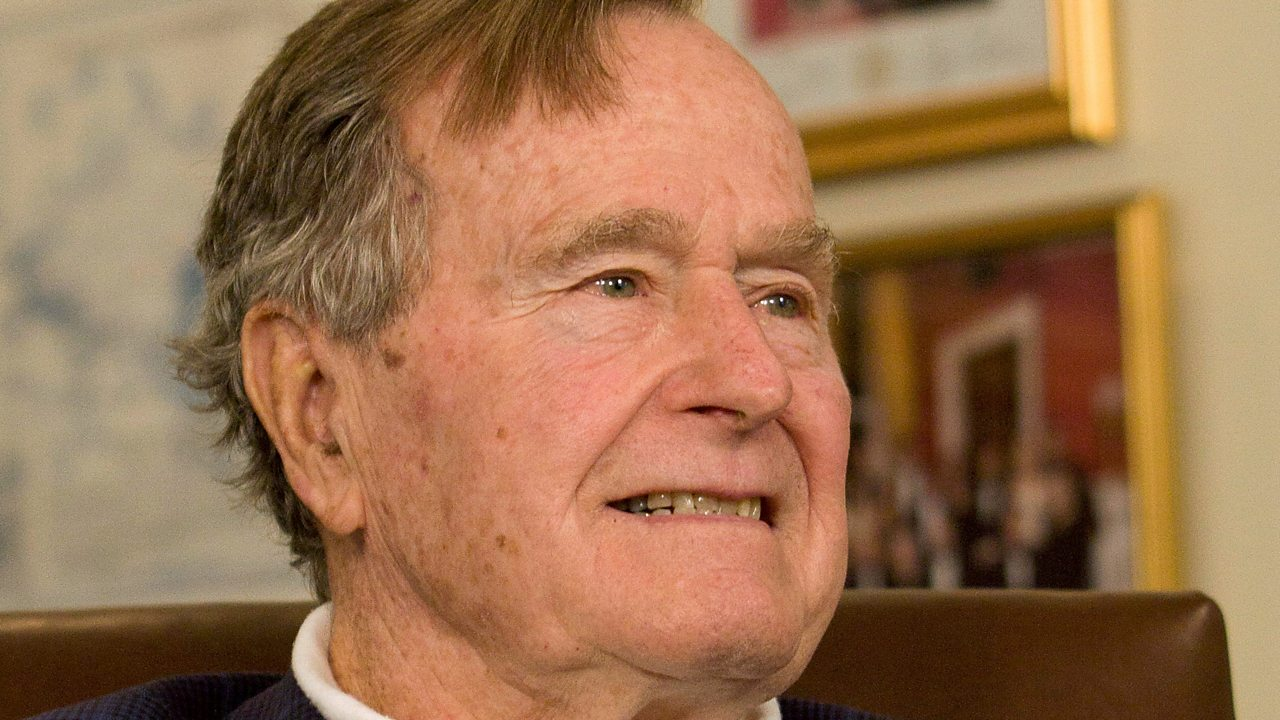 George HW Bush: A look back on the former US president's life