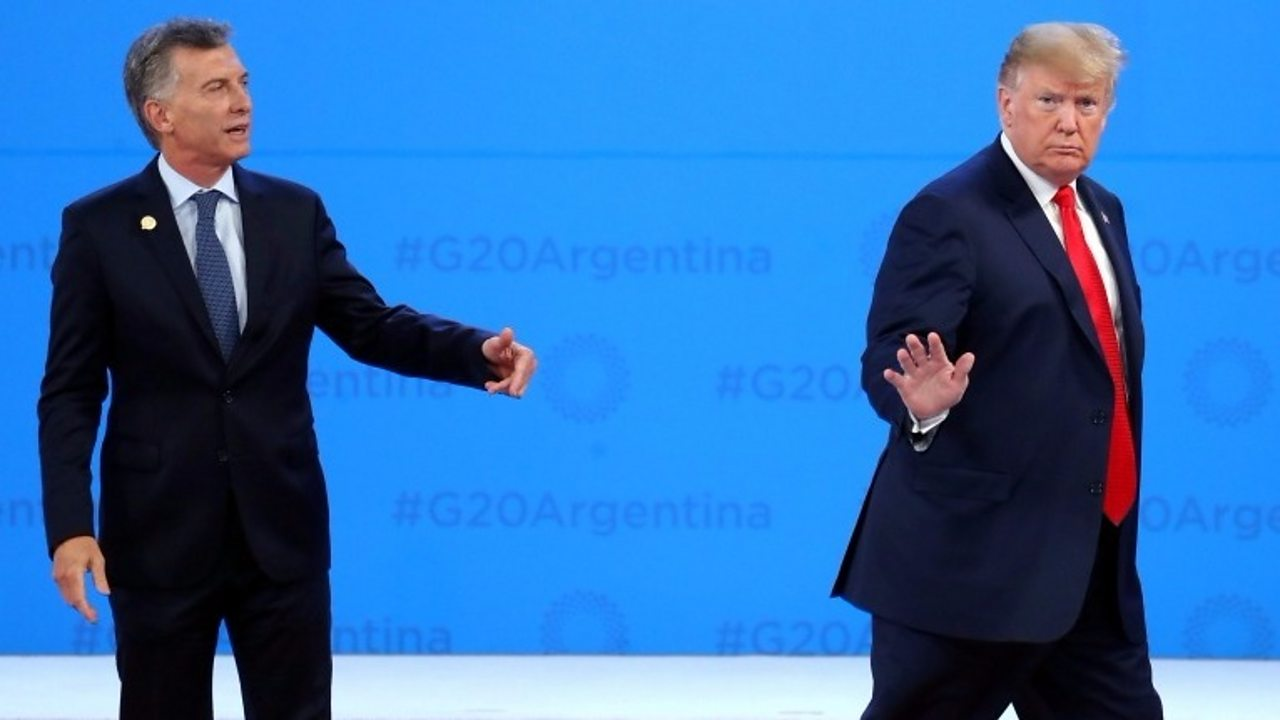 G20: Trump leaves Argentine leader in the lurch