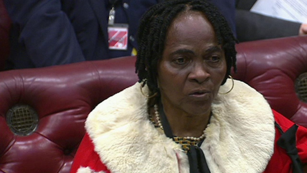 Baroness Osamor joins the House of Lords
