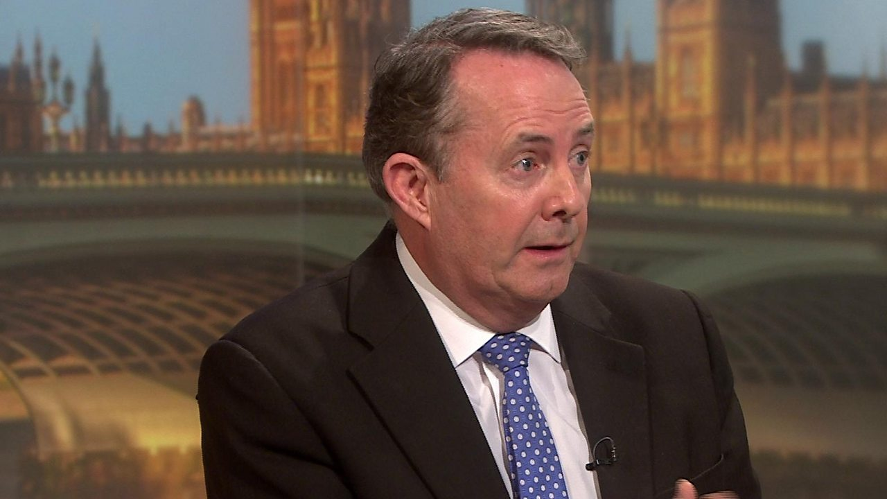 Brexit: International Trade Secretary Liam Fox on PM's deal