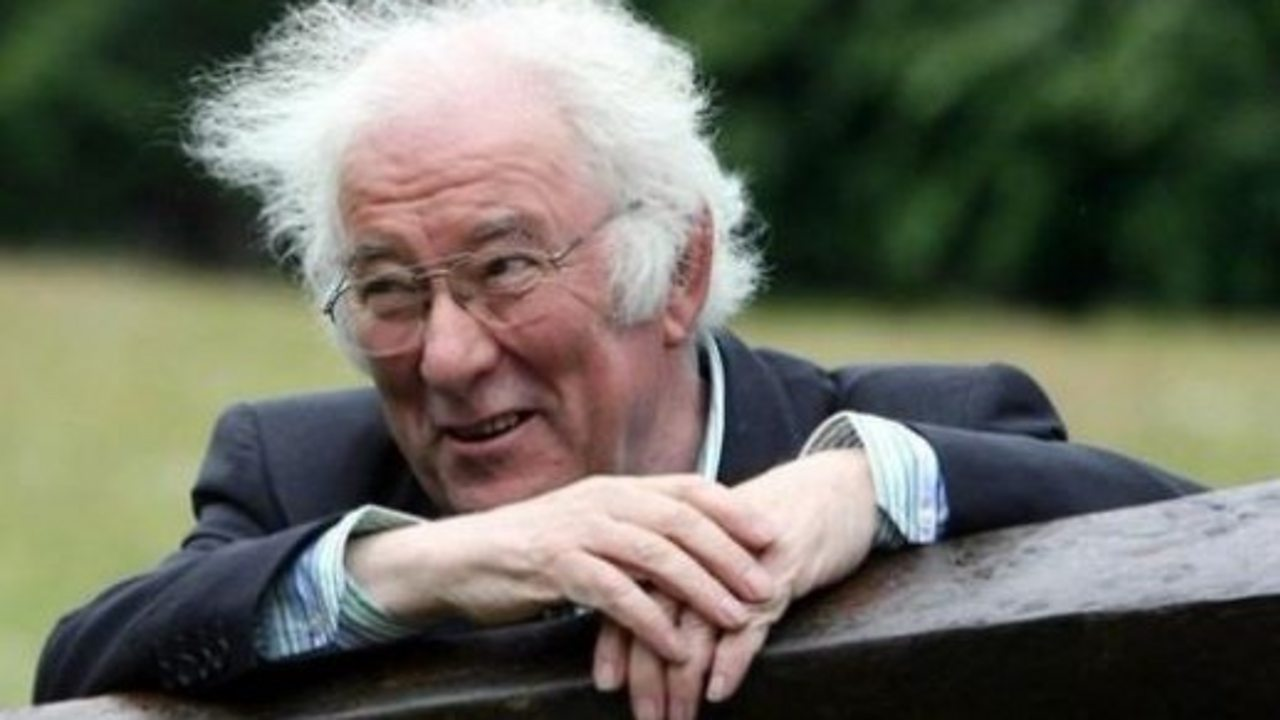 Irish poet Seamus Heaney's widow reads love poem