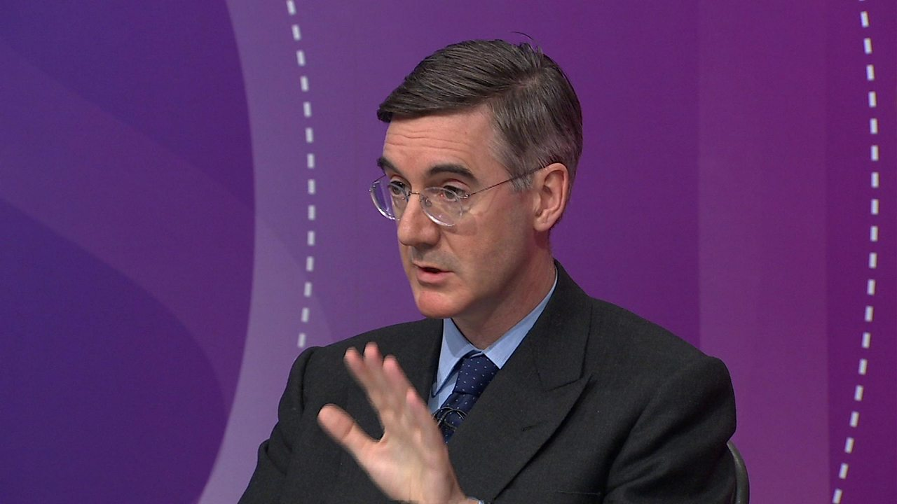 Jacob Rees-Mogg comments on concentration camps