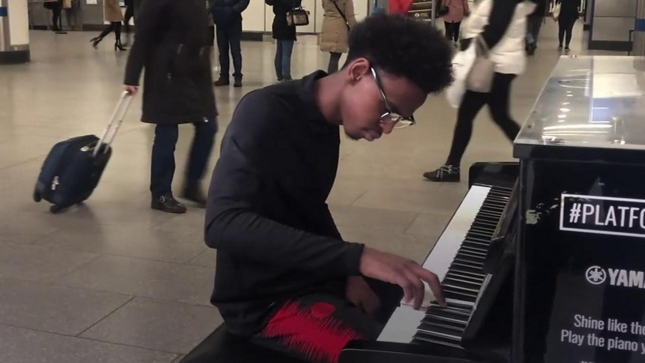 The boy who taught himself to play