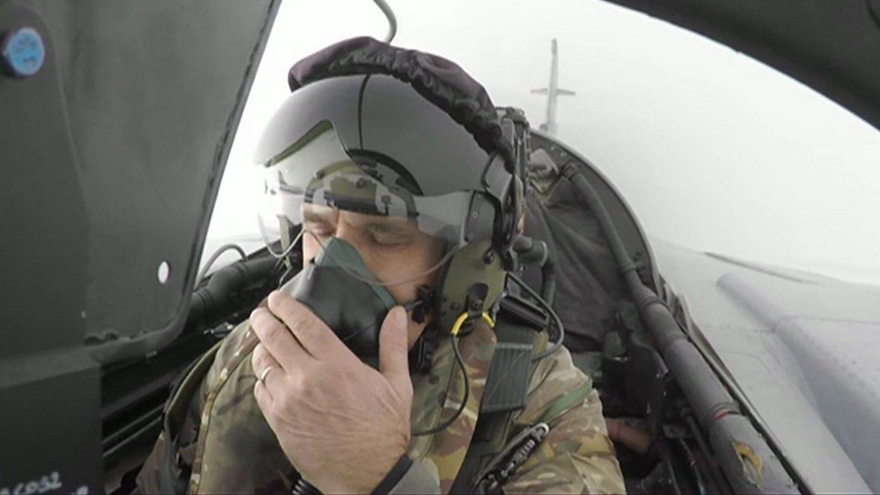 RAF Tornado retirement: Journalist gets queasy on goodbye flight