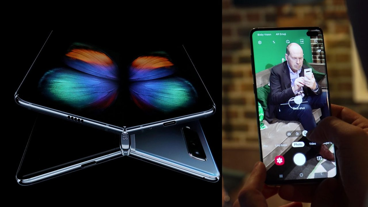 First look at Samsung S10 and Fold phones