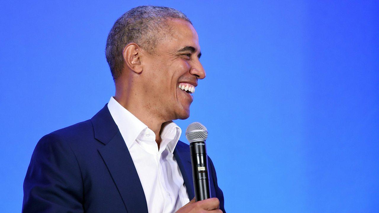 Barack Obama: 'You don't need eight women around you twerking'