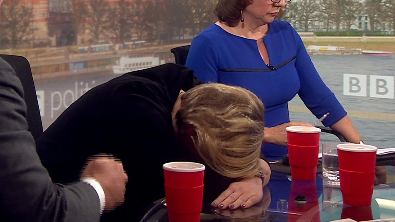 Brexit: Stella Creasy slams head on desk