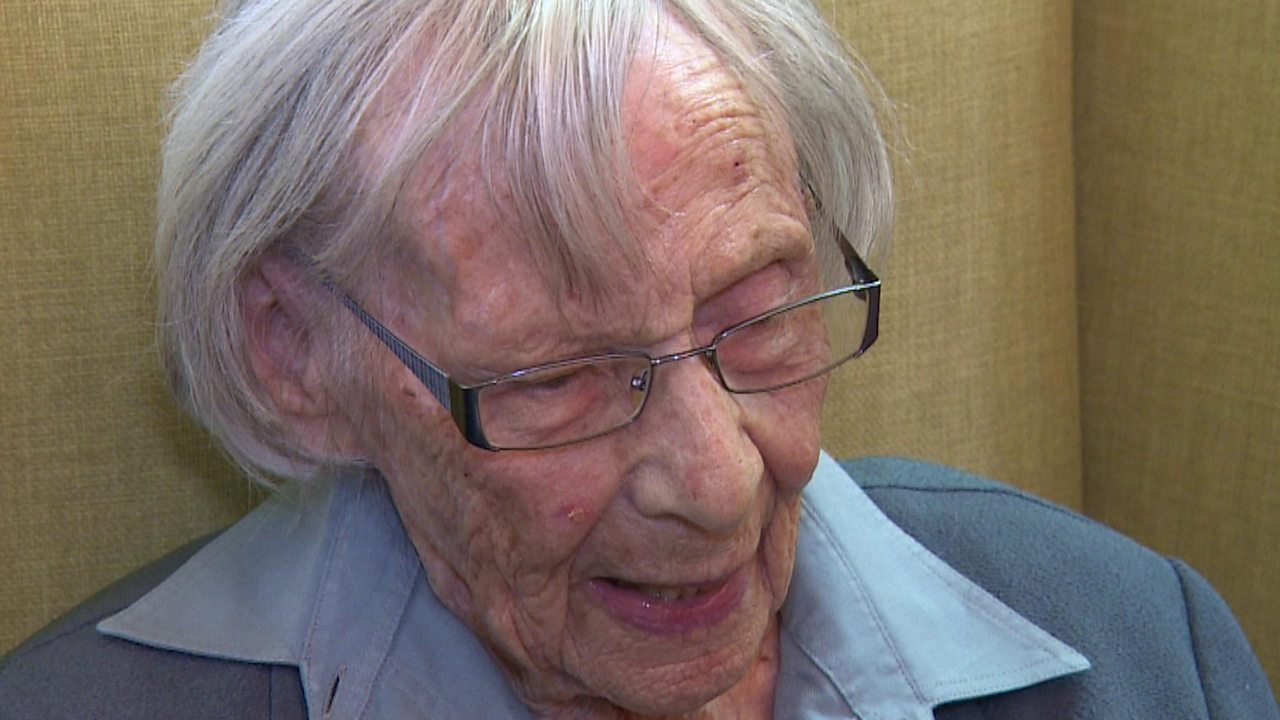 Anne, 104, 'arrested' for being an upstanding citizen