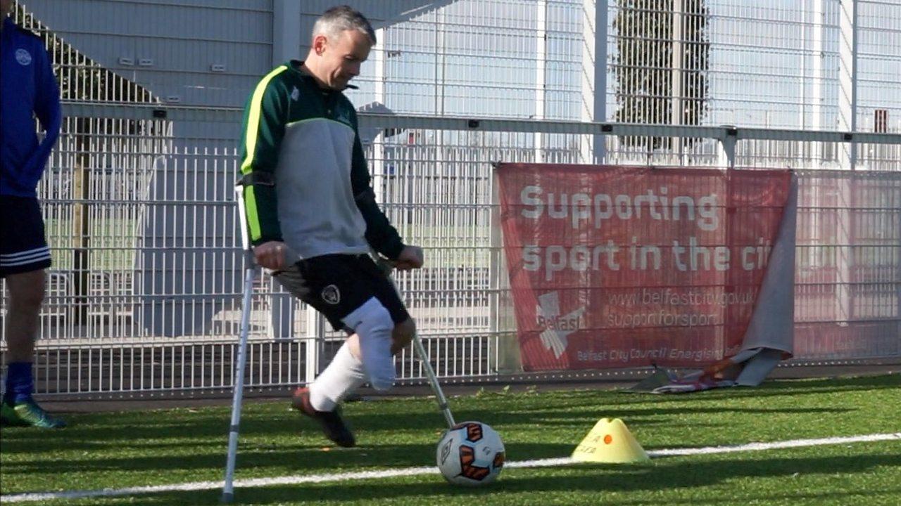 Meet Northern Ireland's first amputee football club