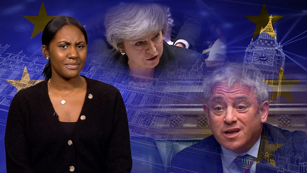 Brexit votes: Why does Speaker shout 'Order, Order'?