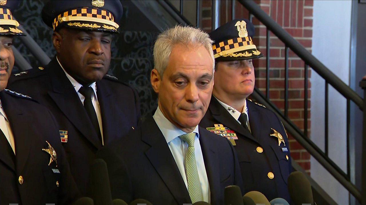 Jussie Smollett: 'Whitewash of justice' says Chicago mayor