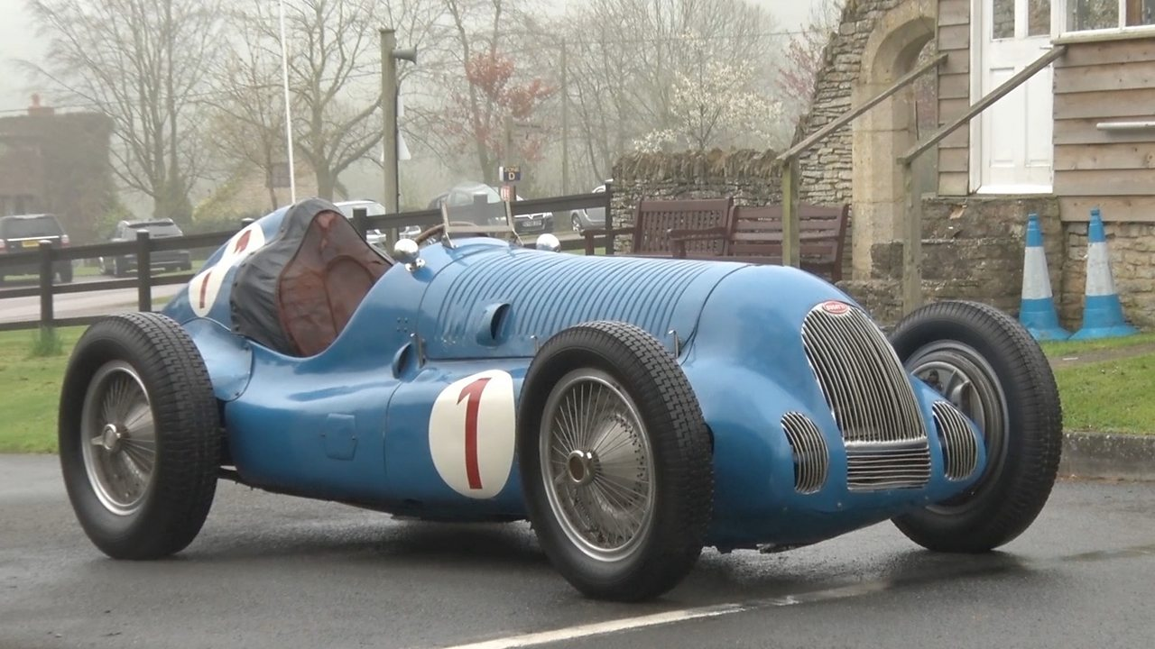 Rare racing car returns to hillclimb course