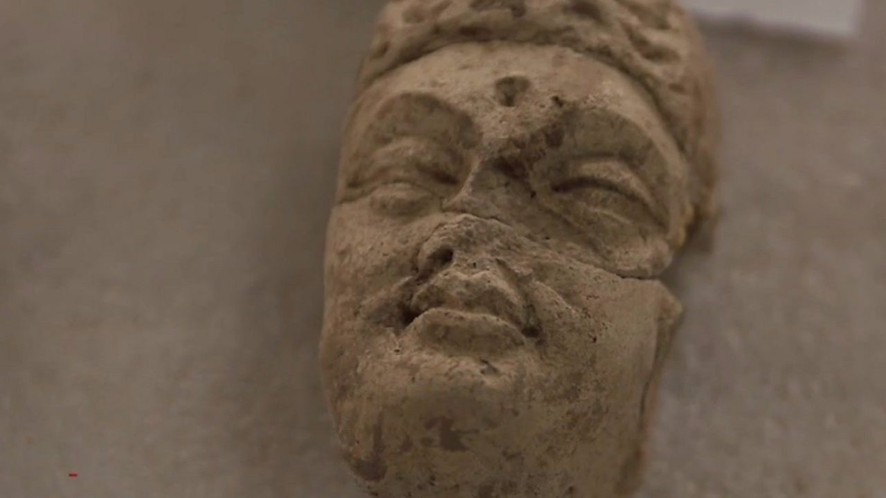 Once destroyed by the Taliban, the Buddha statues live again