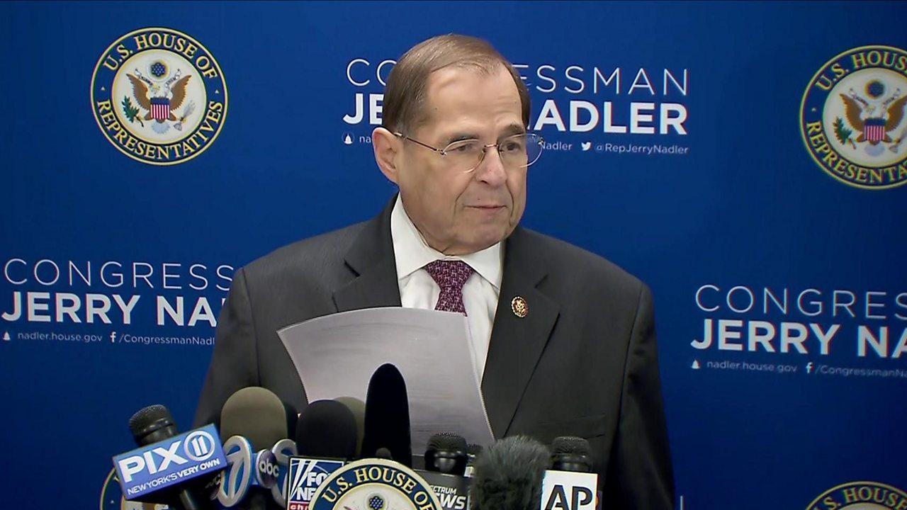 Mueller report has 'disturbing evidence of obstruction' - Nadler