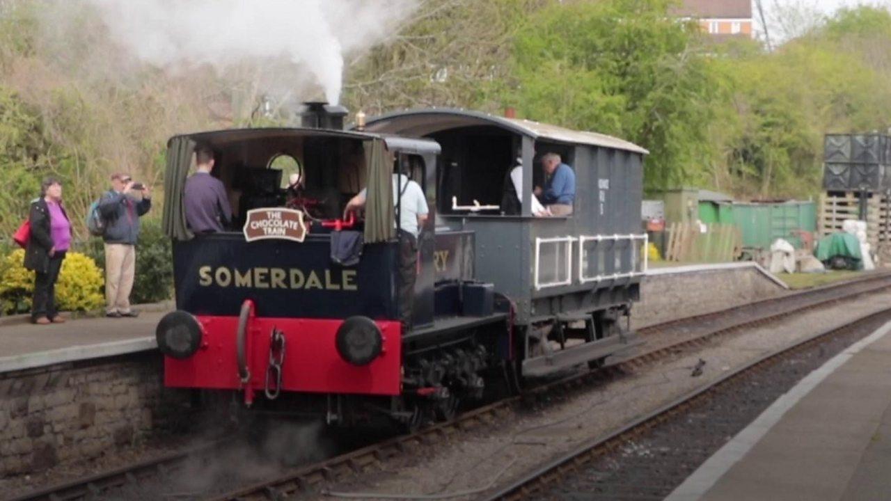 Historic chocolate train steams again