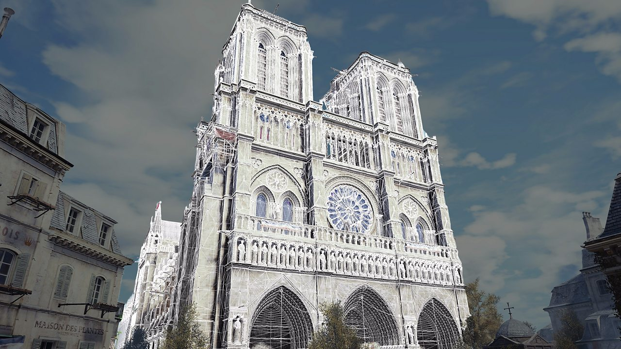 Notre-Dame fire: How gamers are getting 'inside' the cathedral
