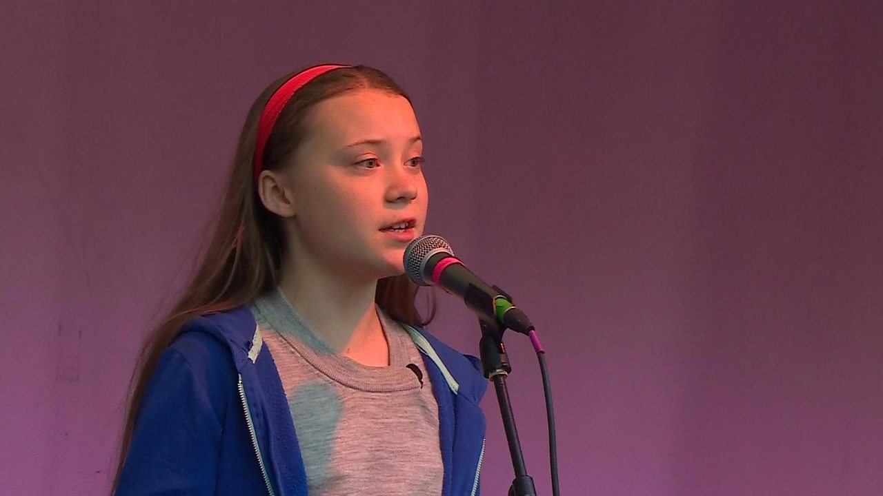 Greta Thunberg: Teen says fight for planet will never stop