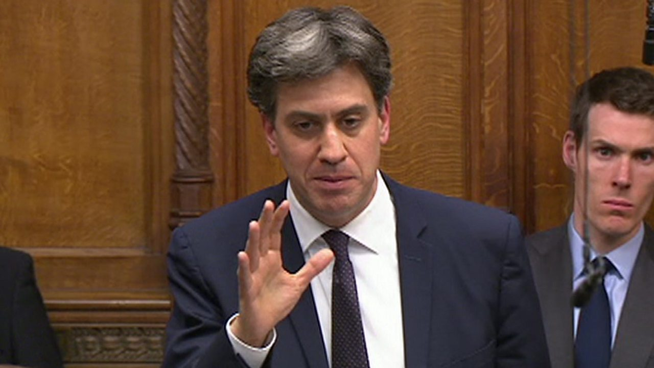 Climate change: Miliband says UK should declare emergency