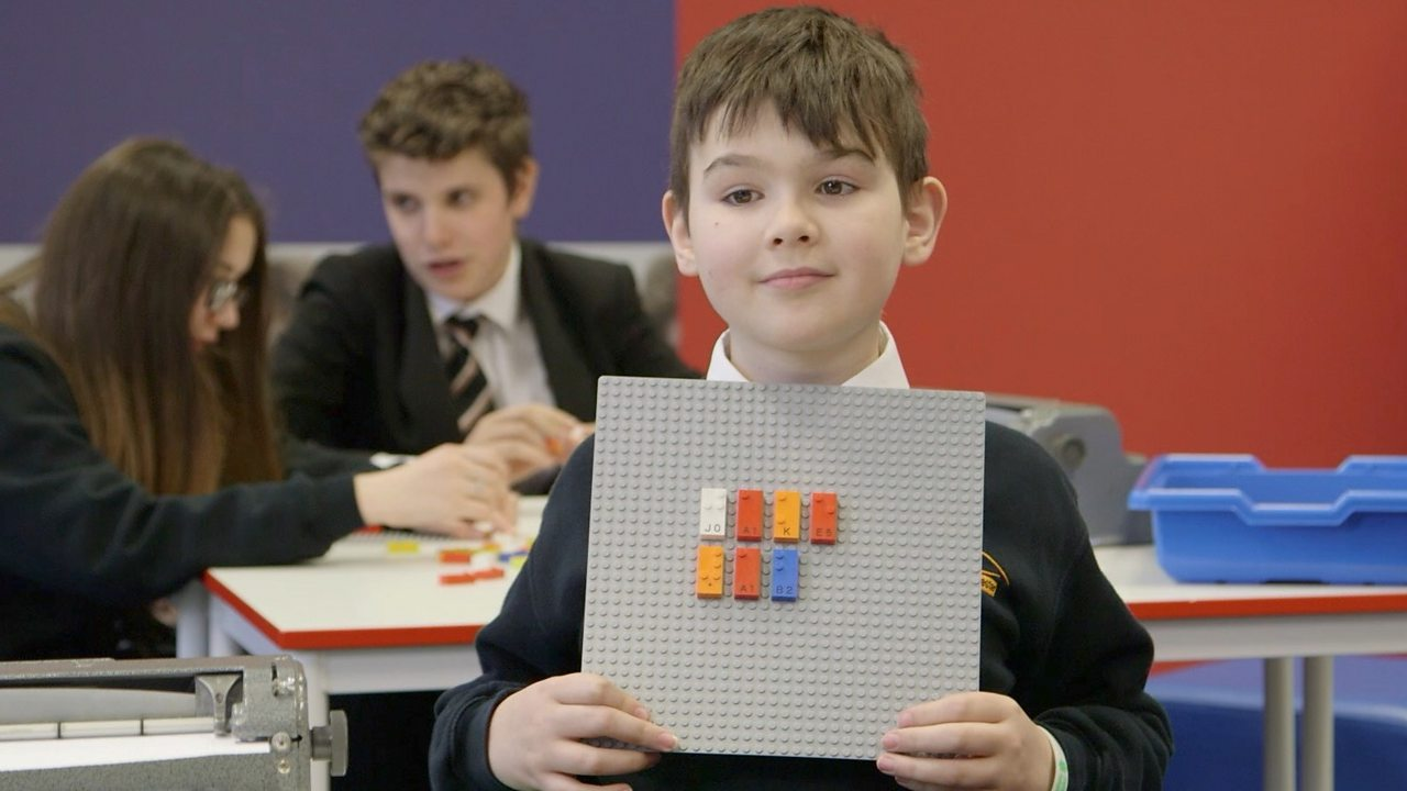 The Lego bricks designed for children with sight loss
