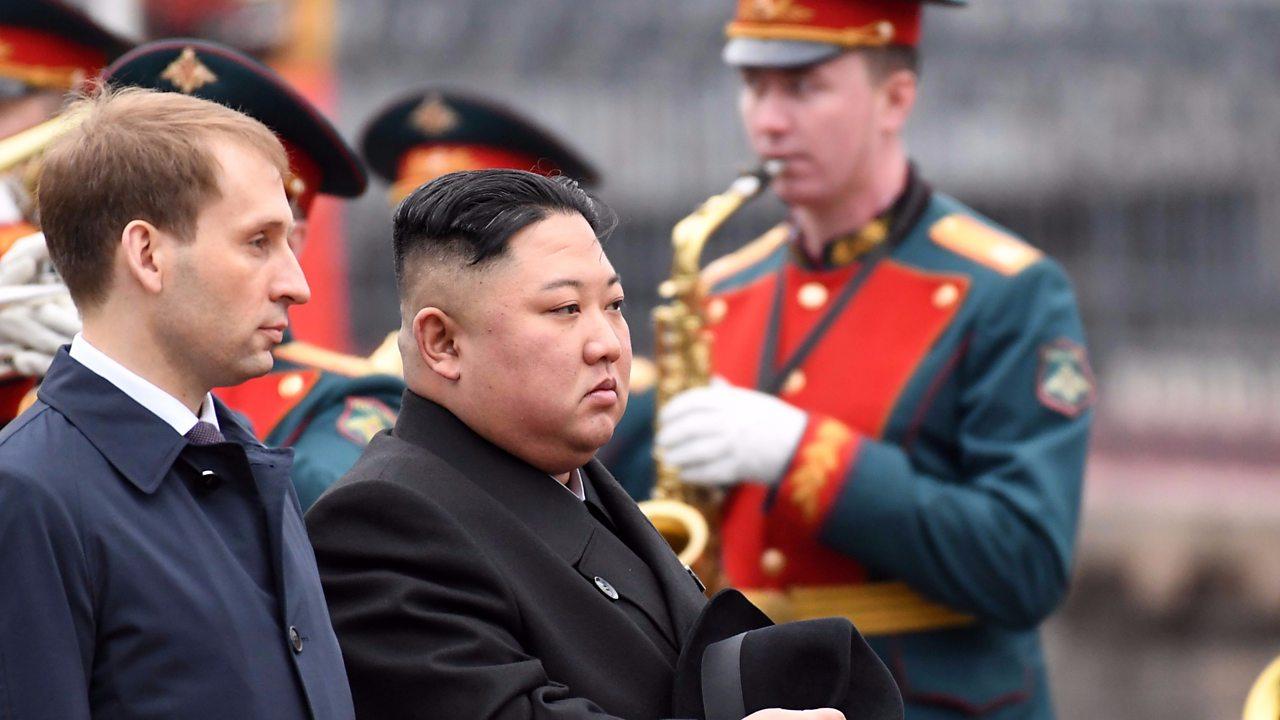 North Korean leader Kim Jong-un arrives in Vladivostok ahead of Putin summit