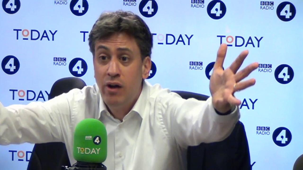 Climate change: Ed Miliband says 'UK needs to be on 'war footing'