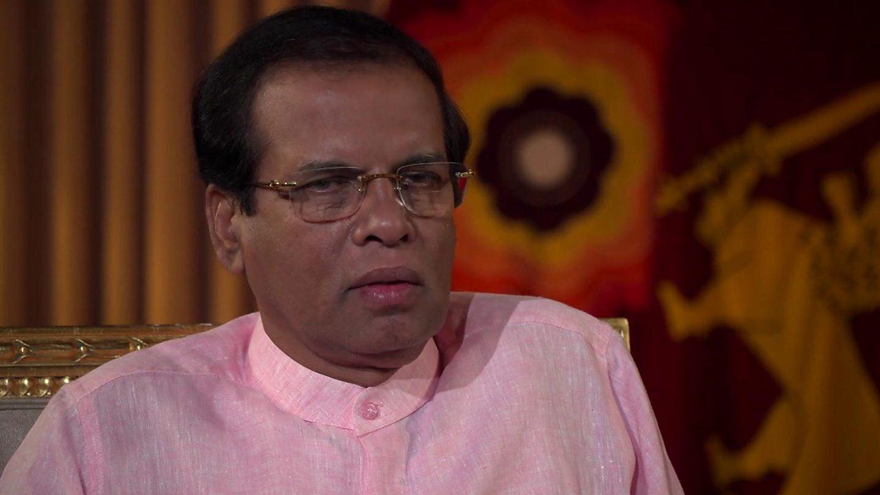 Sri Lanka president: IS 'chose Sri Lanka to show they exist'