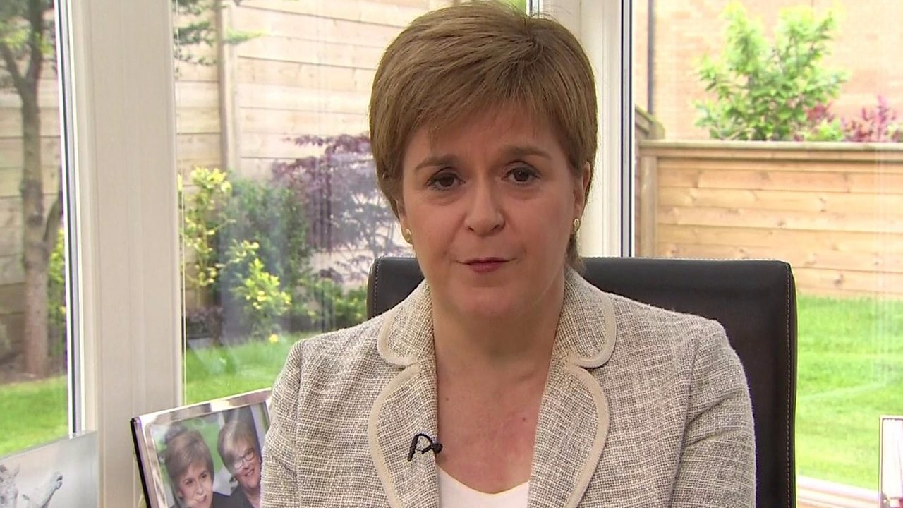 European elections 2019: 'We want to keep Scotland in the EU' - Sturgeon