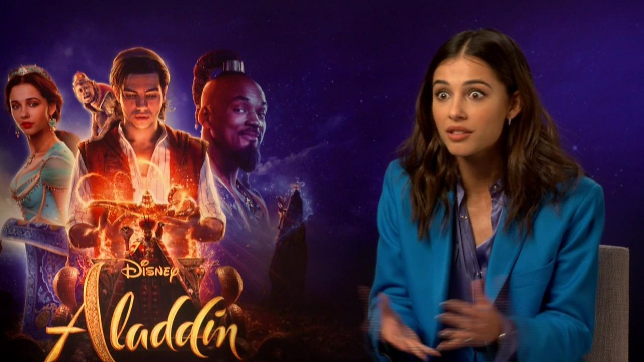 Aladdin: 'Disney princesses were so influential to my generation'