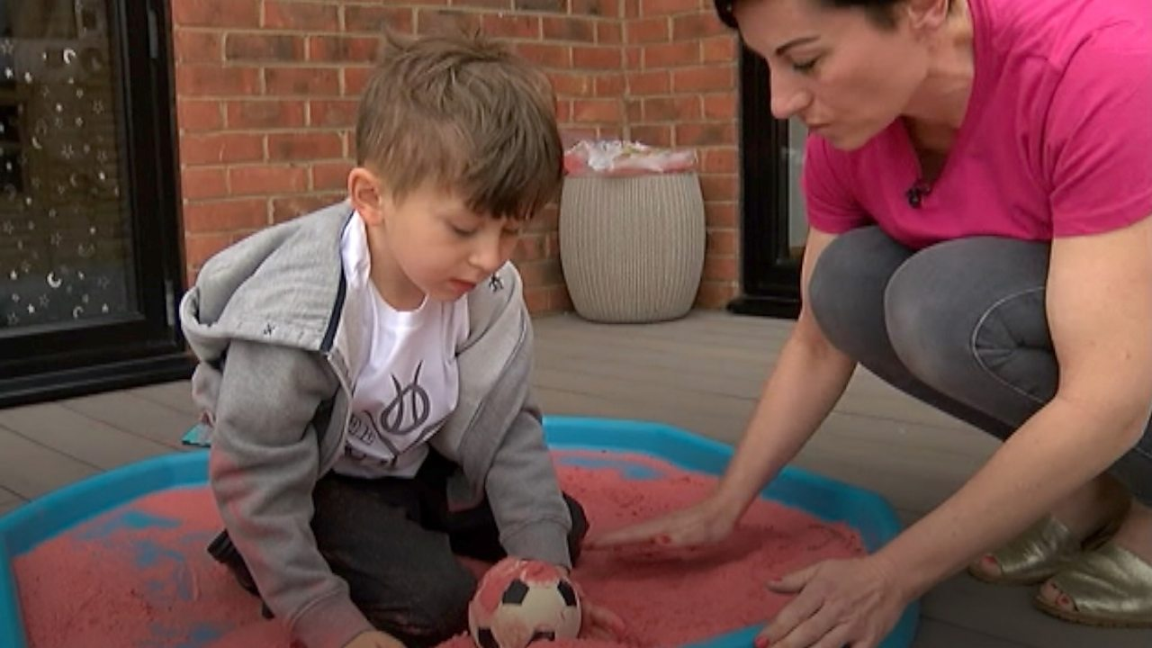 'Born Anxious': Kent mother designs autism-friendly T-shirt