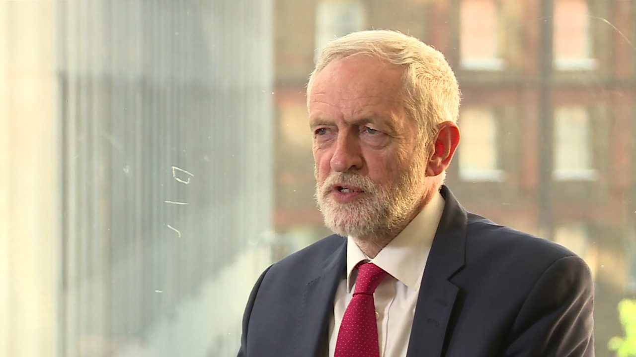Jeremy Corbyn: Labour will vote against PM's Brexit bill