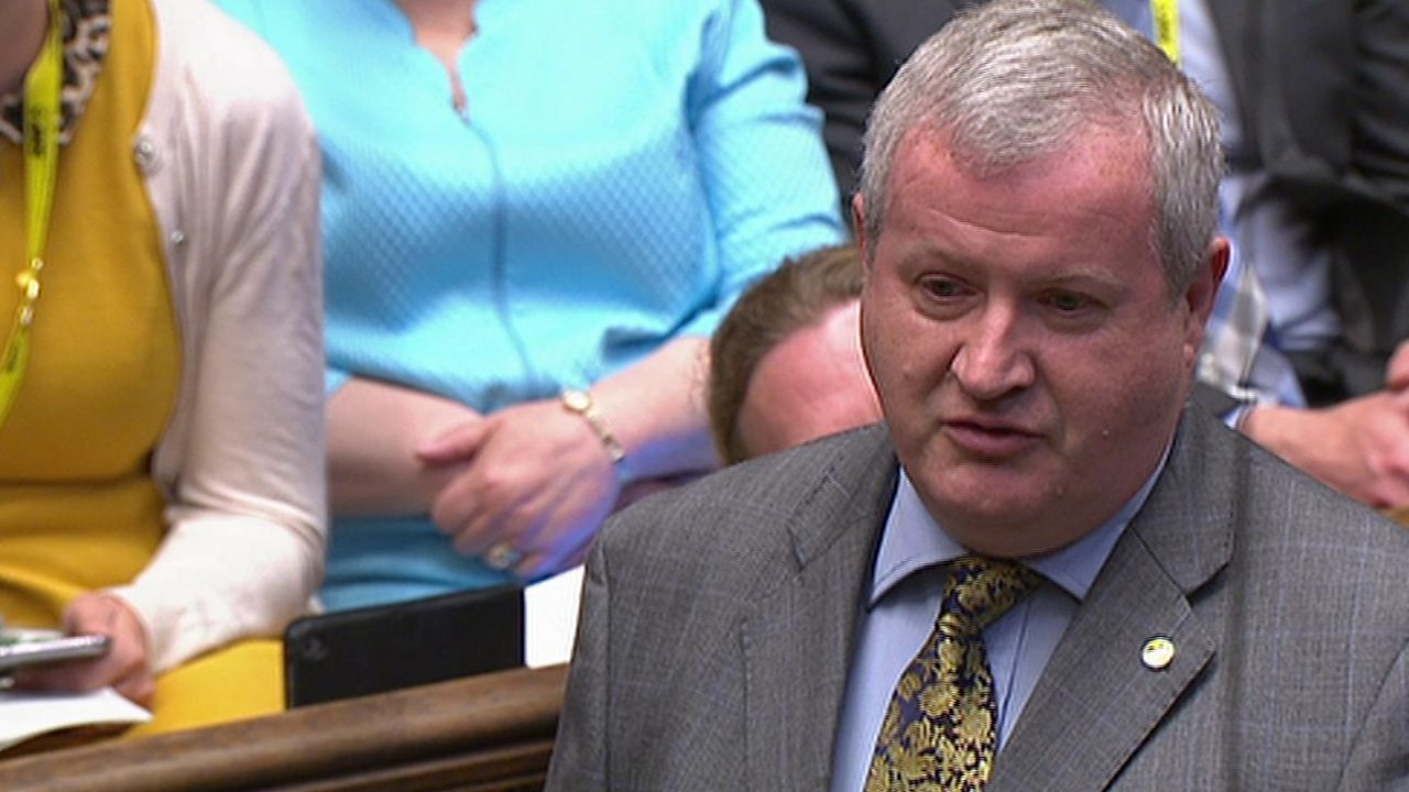 PMQs: Blackford and May on changes to PM's Brexit deal