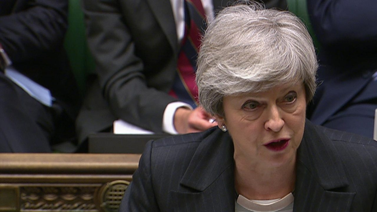 PMQs: Corbyn and May on funding for schools in England