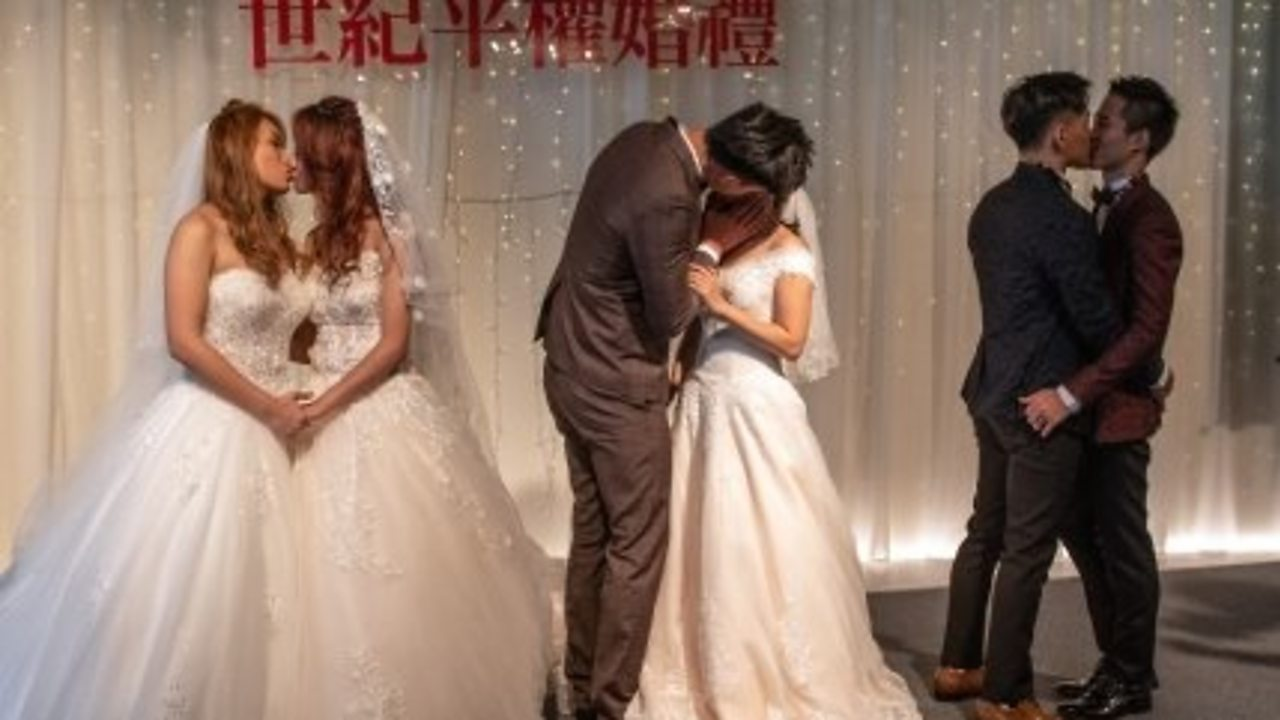 Taiwan gay marriage: Three couples and a wedding to celebrate equality