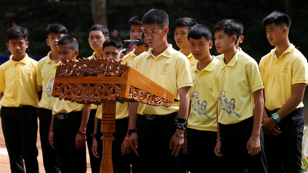 Thailand cave rescue: Boys mark one year anniversary