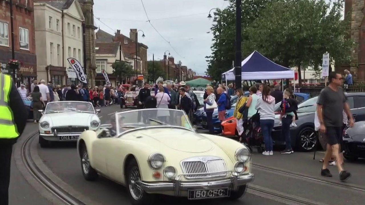 Tram Sunday, Fleetwood: Thousands at transport festival