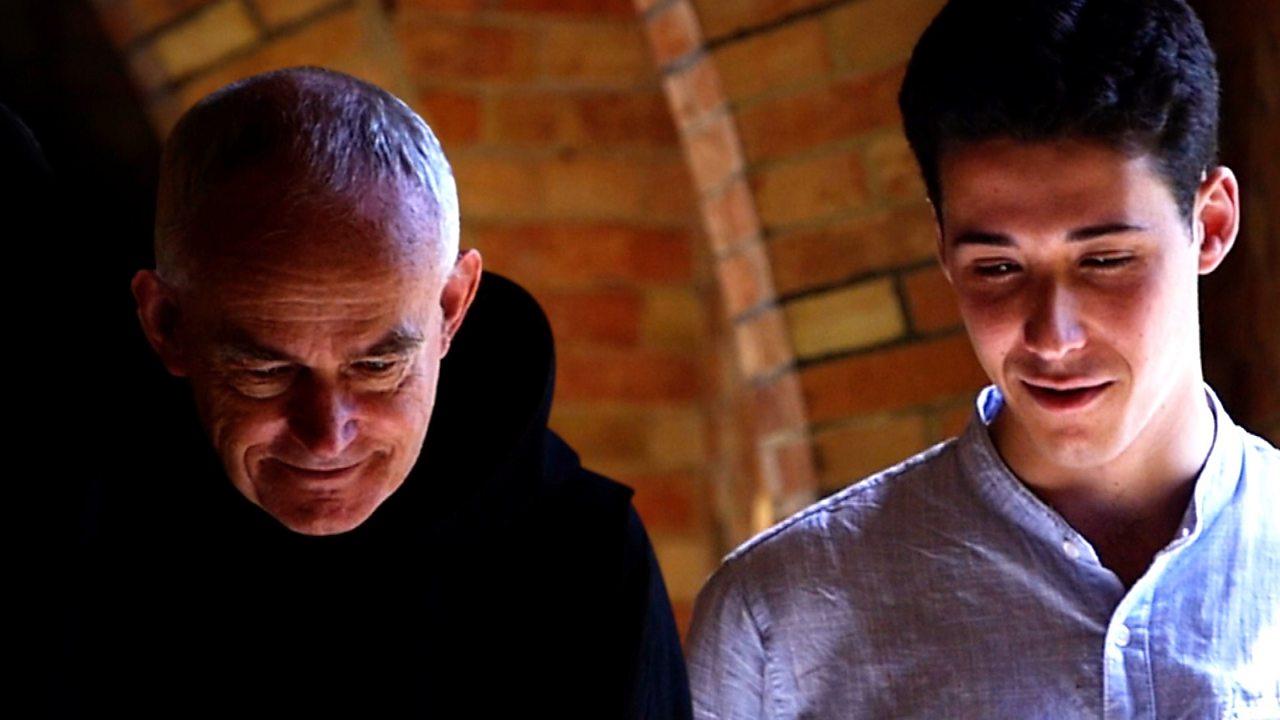 'I took an internship at a monastery'