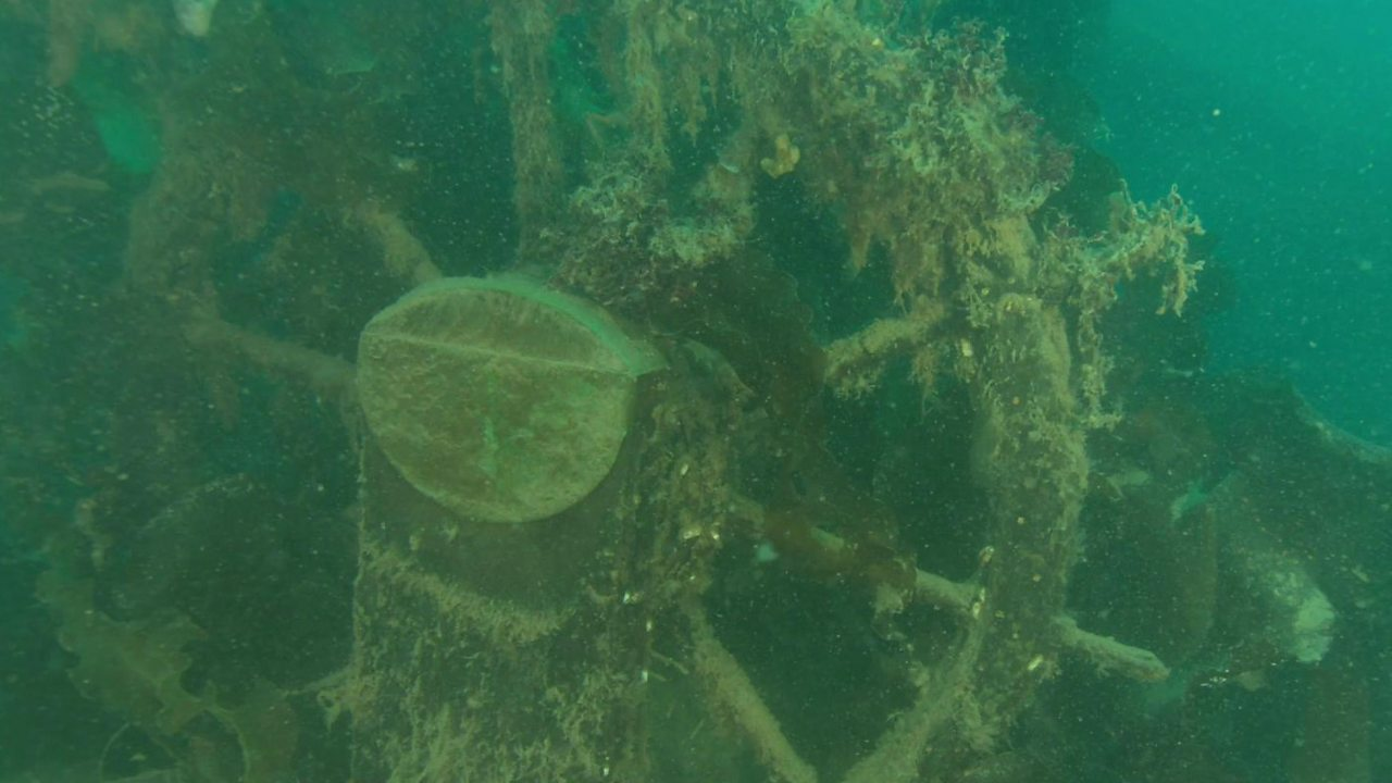 Franklin Expedition: New footage of wreck of HMS Terror